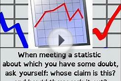 Lying with Statistics: Misleading Statistics, Fraudulent