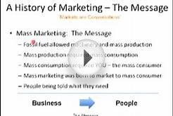 Marketing 101: The History of Mass Marketing - The Message