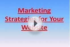 Marketing Strategies for Your Website : Wordpress Web