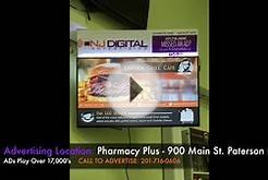 NJ Digital Advertising: Pharmacy Plus Ad Location