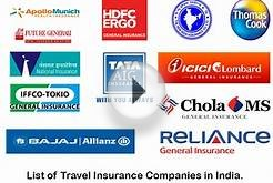Online Travel Insurance Companies in India - 2015 Reviews