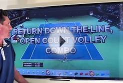 PLAY #5: Run Around Forehand Return On The Ad Side | Daily