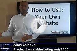 Product Launch Marketing: How to Use Your Own Website