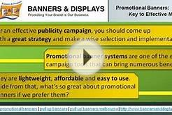 Promotional Banners - An effective Publicity Campaign Tools