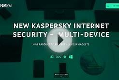 Promotional website for Kaspersky Internet Security MD