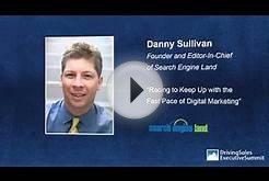 Search Engine Marketing Expert Danny Sullivan To Keynote #