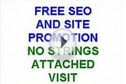 SEO services for FREE promote your site for FREE with no