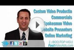 Spokesperson Video Ads for Business Website Online