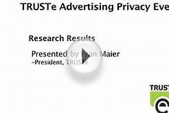 TRUSTe - Online Behavioral Advertising - Research Results