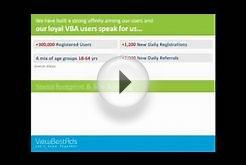 VBA Advertisers Portal - the Concept