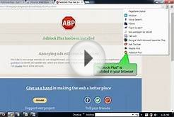 Watch advertisement free videos in YouTube and other websites
