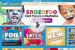 Web Tips - How to Find Products on the Balloon Market Website