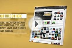 Website Promotion - After Effects Template - Project Files