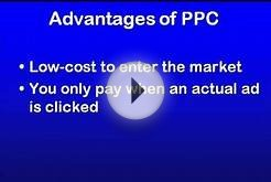 What are the advantages of Pay Per Click advertising?