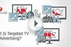What is targeted TV advertising?