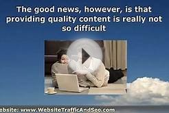 Writing Good Content for your Website